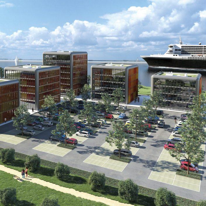 Freie Demokraten FDP Stadtverband Wedel Bauen Businesspark Elbcubes