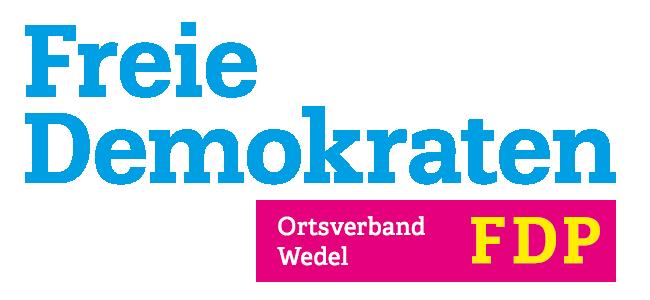 Freie-Demokraten-FDP-Stadtverband-Wedel-Logo-transparent-blau