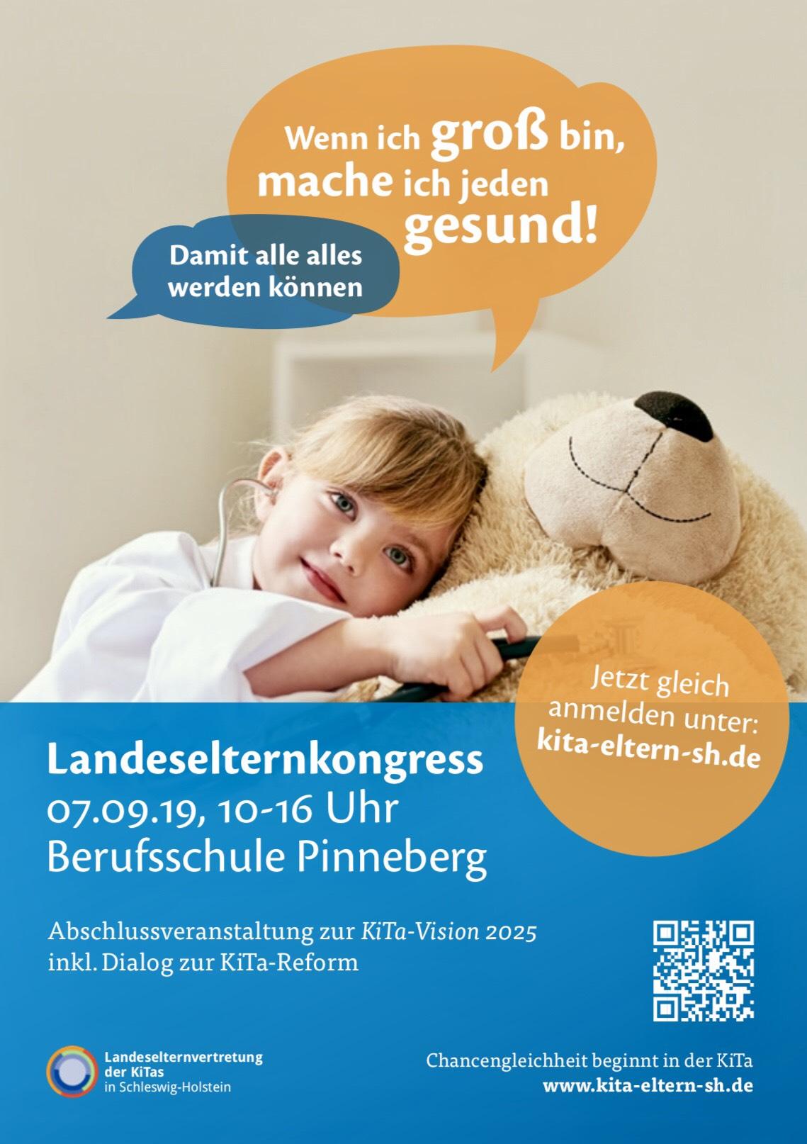 Freie-Demokraten-FDP-Stadtverband-Wedel-Soziales-Kita-Landeselternkongress-Plakat