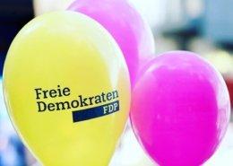 Freie-Demokraten-FDP-Ortsverband-Wedel-Luftballons